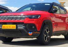 2021 Jeep Compass Trailhawk spied ladakh img1