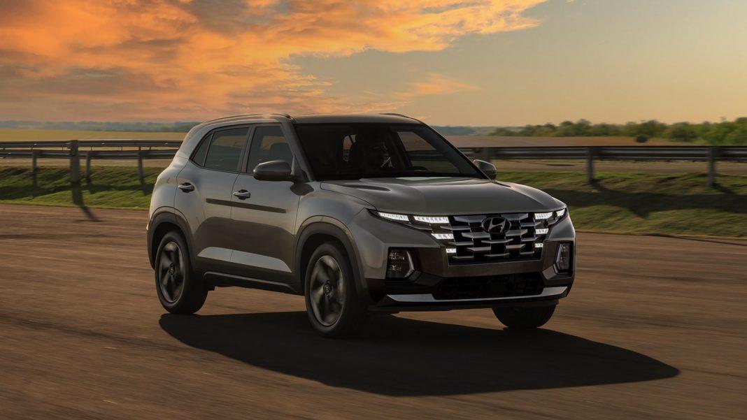 2022 Hyundai Creta facelift front render