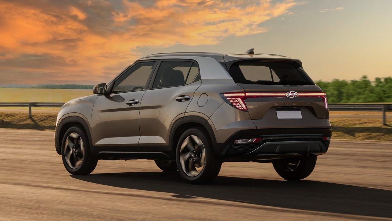 2022 Hyundai Creta facelift rear render