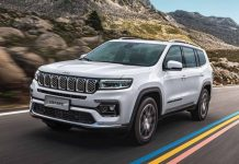Jeep Grand Commander facelift 2
