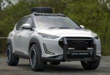 Nissan Magnite off-road SUV render img1