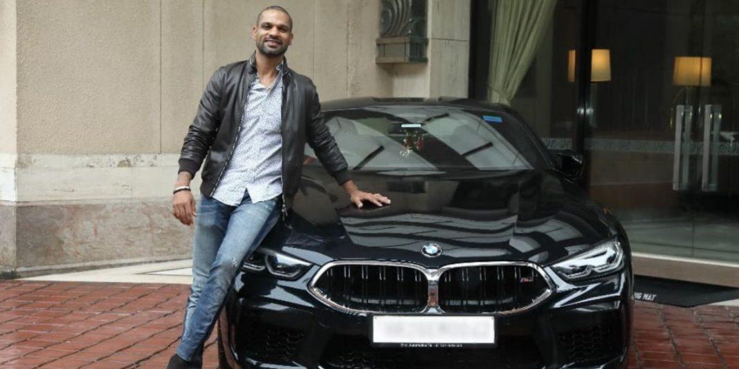 Shikhar Dhawan BMW M8 Coupe