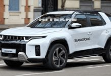 SsangYong J100 Rendered