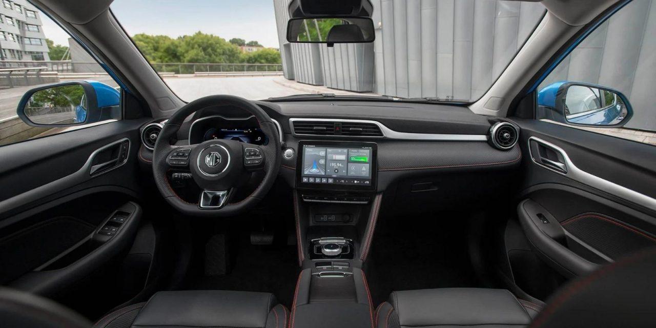 Interior del MG ZS EV 2022