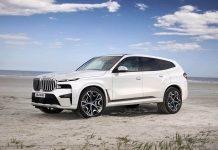 2023 BMW X8 rendering
