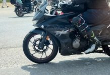 Hero Xtreme 200S 4V spotted