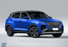 Hyundai Creta N Line digitally rendered front angle