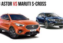 MG Astor Vs Maruti S-Cross