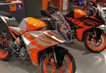 New-gen KTM RC200 walkaround