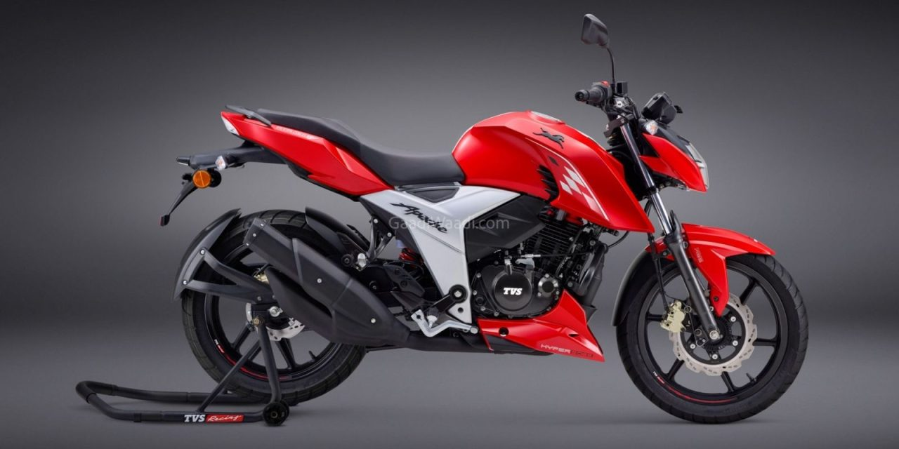 TVS Apache RTR 160 4V Edition with Ride Modes 1