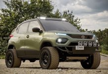 Tata Punch off-road SUV rendering