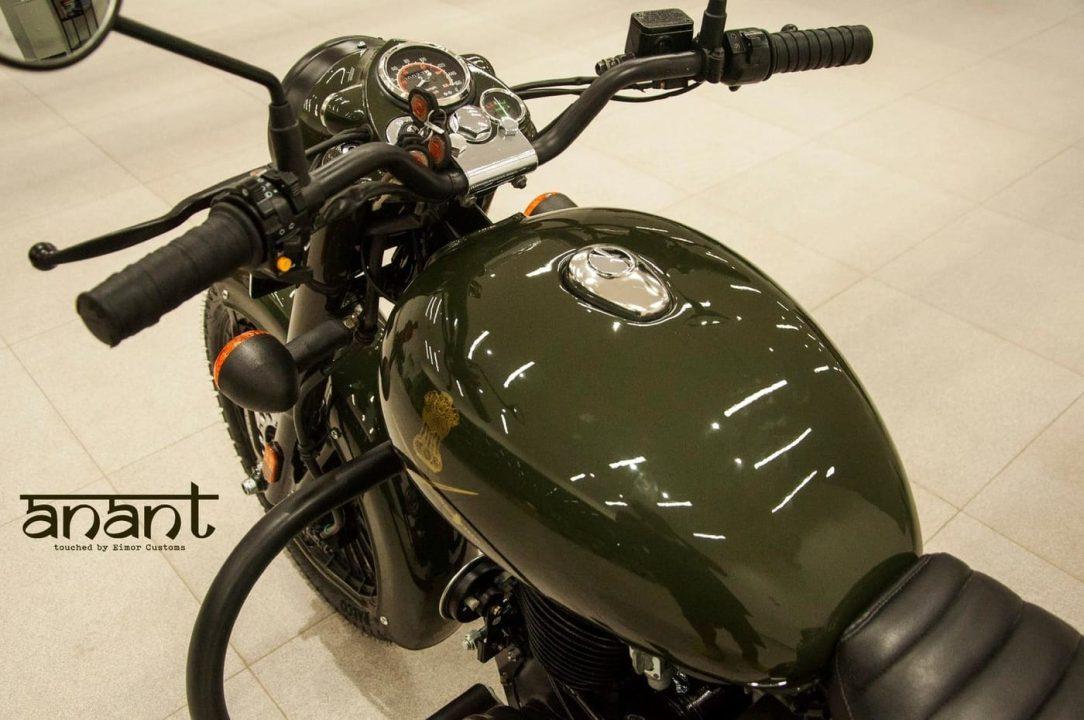 modified Royal Enfield Bullet 350 img3